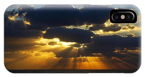 Spiritually Uplifting Sunrise IPhone Case