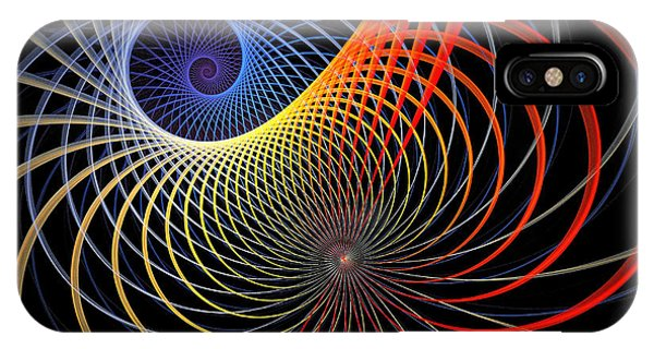 Fractal iPhone Case - Spirograph by Amanda Moore