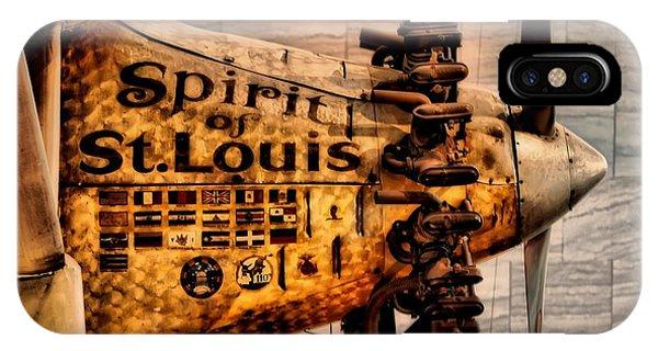 Spirt Of St Louis IPhone Case