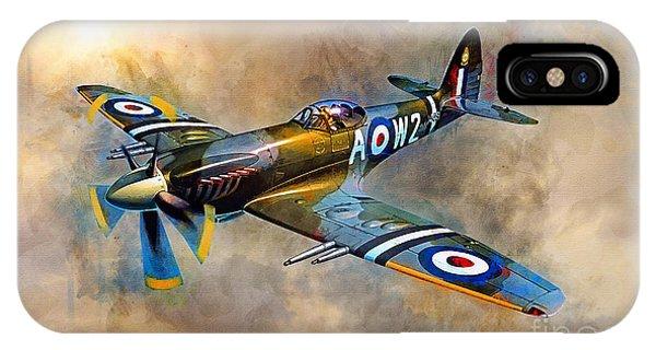 Spitfire Dawn Flight IPhone Case