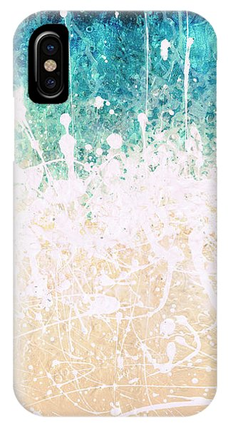 IPhone Case featuring the painting Splash by Jaison Cianelli