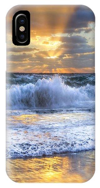Boynton iPhone Case - Splash Sunrise II by Debra and Dave Vanderlaan