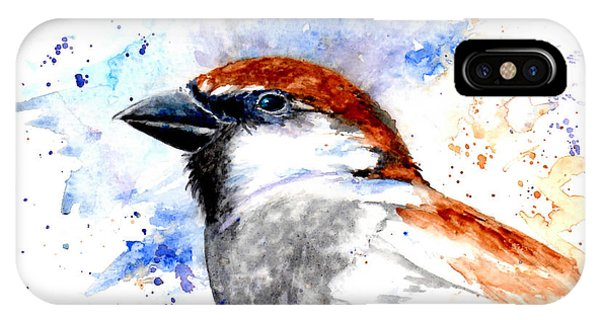 Splendid Sparrow IPhone Case