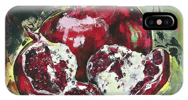 Split Pomegranate IPhone Case