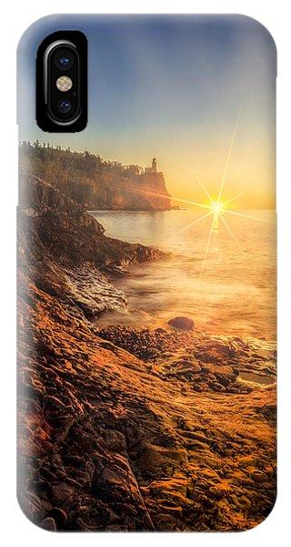 Split Rock Glory IPhone Case