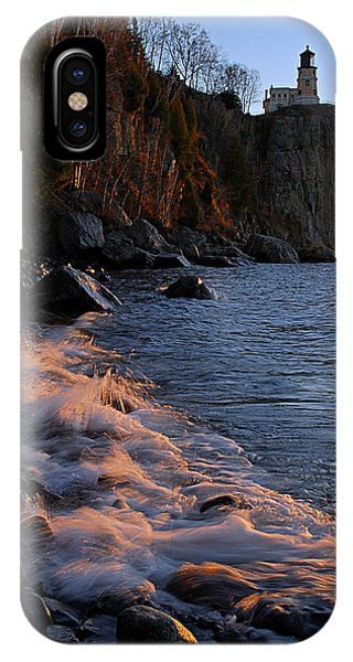 Split Rock Lighthouse At Dawn IPhone Case