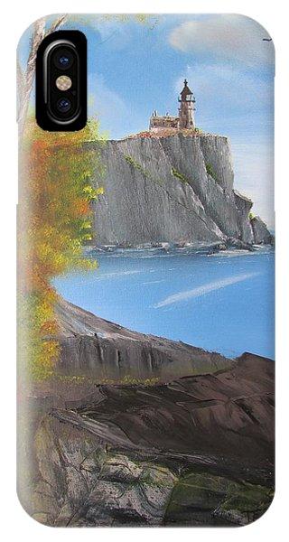 Split Rock Lighthouse Minnesota IPhone Case