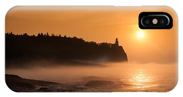 Split Rock's Morning Glow IPhone Case
