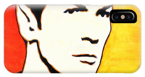 Spock Vulcan Star Trek Pop Art IPhone Case