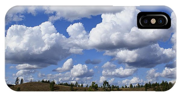 Spokane Cloudscape IPhone Case