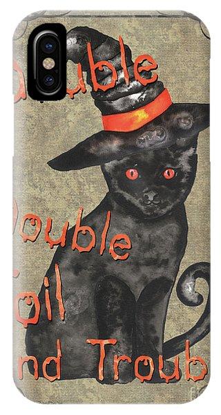Bat iPhone Case - Spooky Pumpkin 3 by Debbie DeWitt