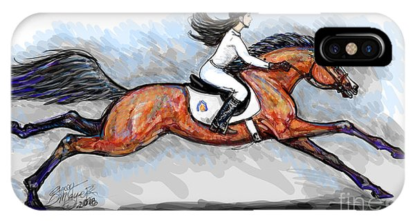 Sport Horse Rider IPhone Case