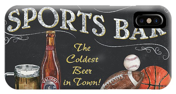 Cold iPhone Case - Sports Bar by Debbie DeWitt
