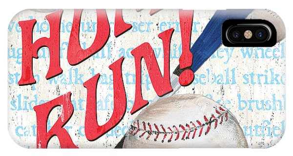 Baseball Bats iPhone Case - Sports Fan Baseball by Debbie DeWitt
