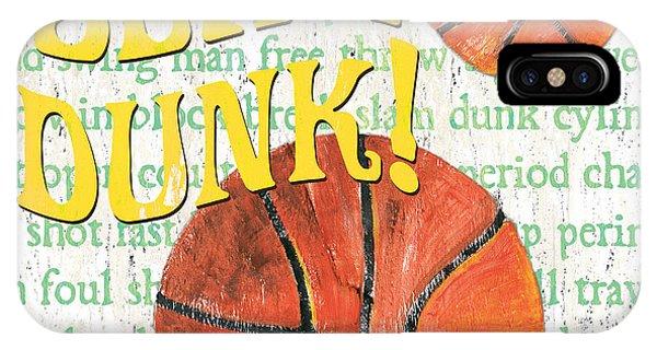 Day iPhone Case - Sports Fan Basketball by Debbie DeWitt