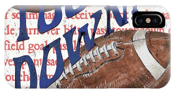 Day iPhone Case - Sports Fan Football by Debbie DeWitt