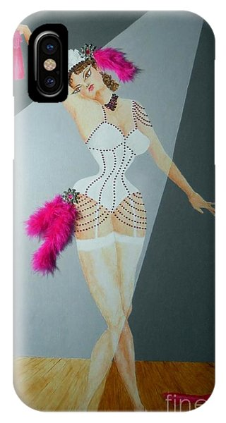 Spotlight On Gypsy -- #5 In Famous Flirts Series IPhone Case