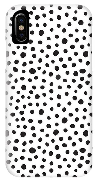 Beach iPhone X Case - Spots by Rachel Follett