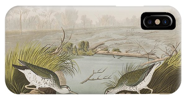 Sandpiper iPhone Case - Spotted Sandpiper by John James Audubon