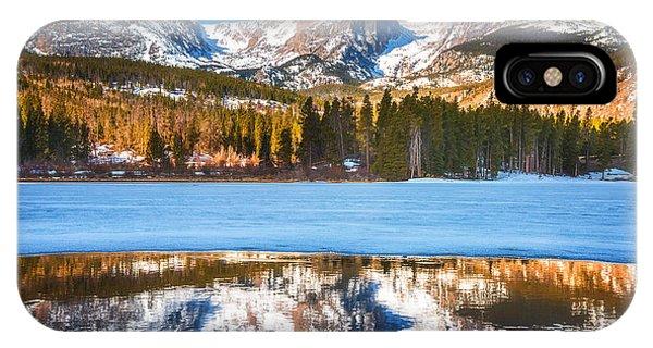 Rocky Mountain iPhone Case - Sprague Lake by Darren  White
