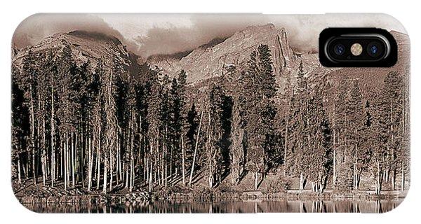 Indian Peaks Wilderness iPhone Case - Sprague Lake Morning by Thomas Bomstad
