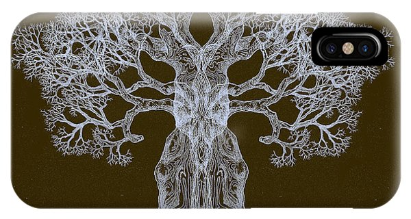 Spreading In Every Direction Tree 13 Hybrid 3 IPhone Case