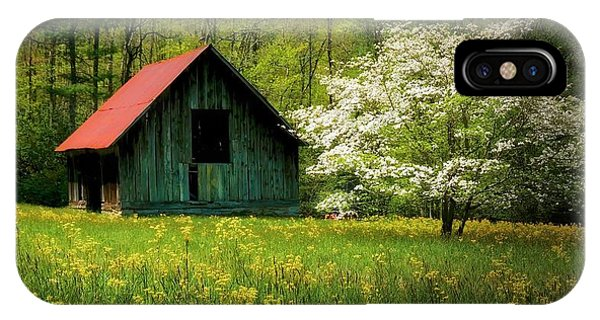 Spring And The Barn IPhone Case