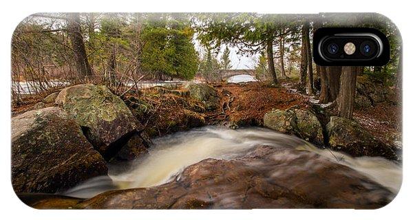Spring At Bog River Falls IPhone Case