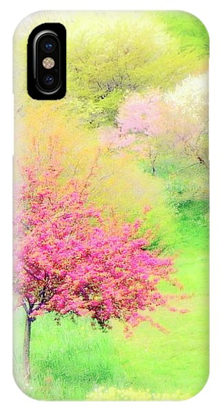spring at Highland Park  IPhone Case