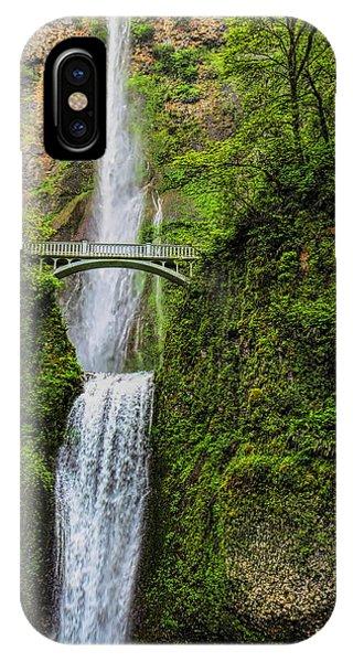 Spring At Multnomah Falls IPhone Case