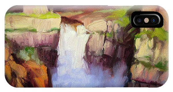 Cause iPhone Case - Spring At Palouse Falls by Steve Henderson