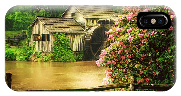 Spring At The Mill IPhone Case