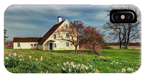 Spring At The Paine House IPhone Case
