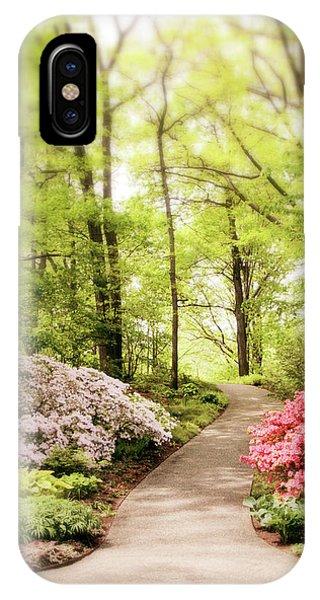 Shrub iPhone Case - Spring Azaleas  by Jessica Jenney
