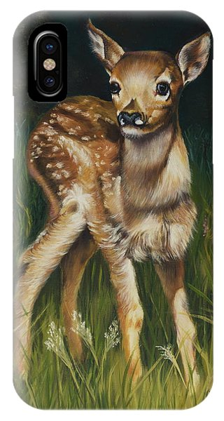 Spring Baby Fawn IPhone Case