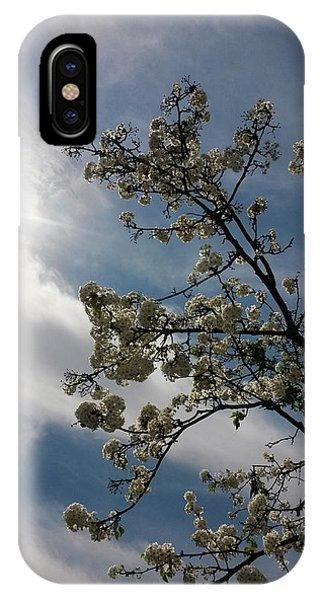 Spring Blossom Sky IPhone Case