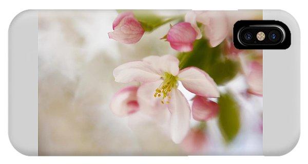 Spring Blossom Whisper IPhone Case