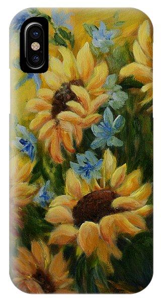 Sunflowers Galore IPhone Case