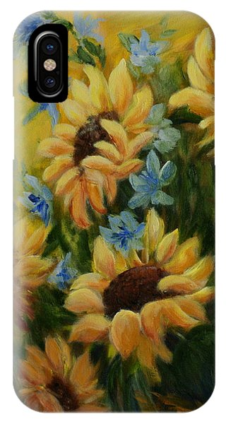 Sunflowers Galore IPhone Case