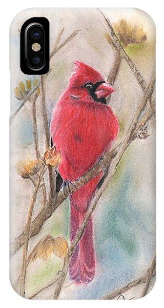 Spring Cardinal IPhone Case