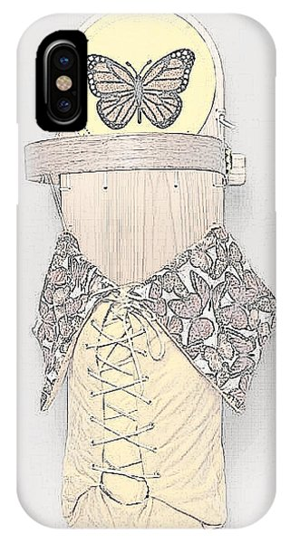 IPhone Case featuring the mixed media Spring Cradleboard by Douglas K Limon