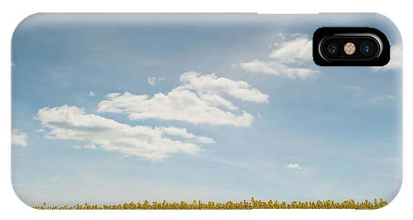 Spring Day Clouds IPhone Case