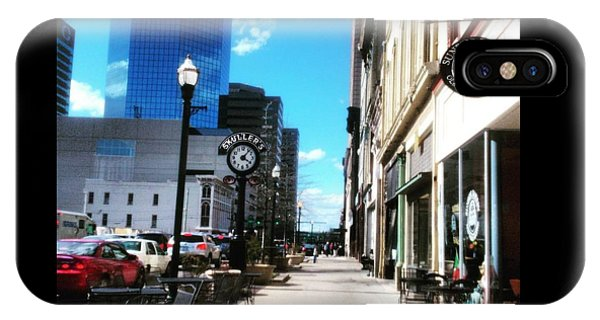 IPhone Case featuring the photograph Spring Day In Downtown Lexington, Ky by Rachel Maynard