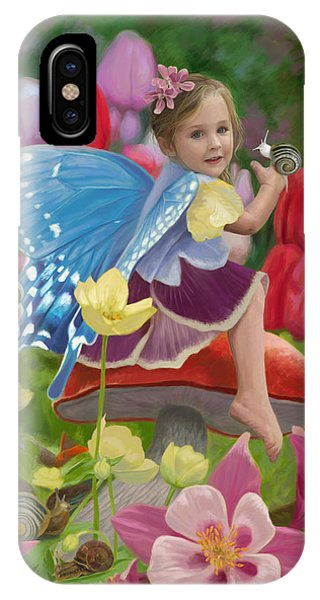 Digital iPhone Case - Spring Fairy by Lucie Bilodeau