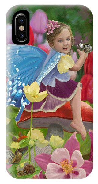Fairy iPhone Case - Spring Fairy by Lucie Bilodeau