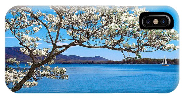 Spring Has Sprung Smith Mountain Lake IPhone Case