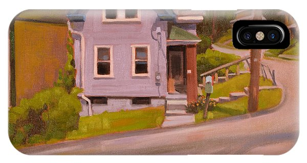 Neighborhood iPhone Case - Spring Hill by Todd Baxter