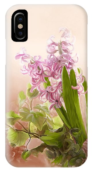 Spring Hyacinth IPhone Case