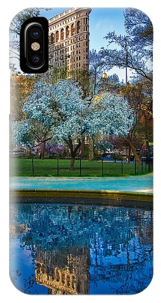Spring In Madison Square Park IPhone Case
