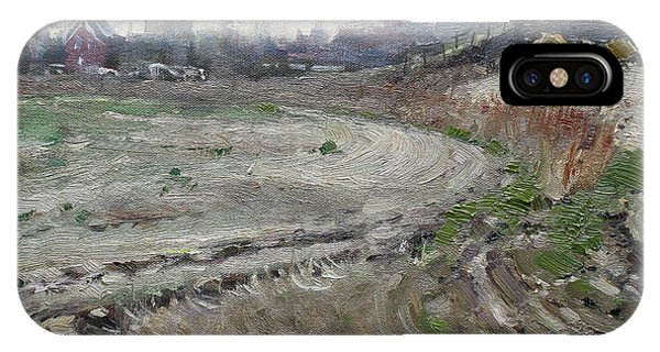 Barn iPhone Case - Spring In The Farm by Ylli Haruni